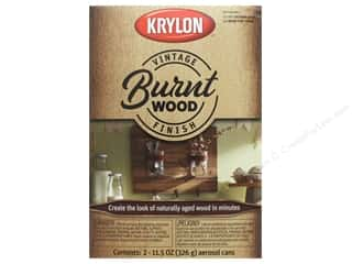 Krylon Paint Kit Vintage Finish Burnt Wood