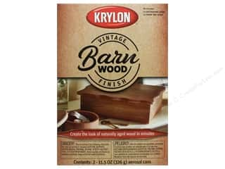 craft & hobbies: Krylon Paint Kit Vintage Finish Barn Wood