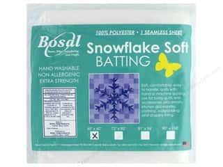 "batting: Bosal Batting Snowflake Soft 45""x 60"""