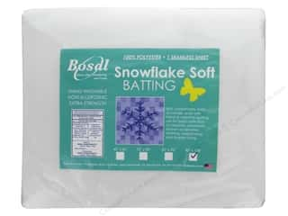 Bosal Batting Snowflake Soft 90 in. x 108 in.