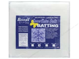 Bosal Batting Snowflake Soft 72 in. x 90 in.