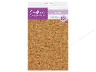 Crafter's Companion Tools Adhesive Cork Sheet 5.5 in. x 8.5 in.  30 pc