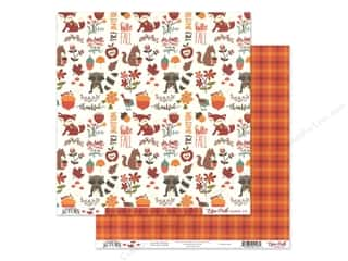 Echo Park Celebrate Autumn Paper 12 in. x 12 in. Autumn Friends (25 pieces)