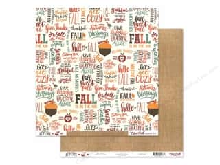 pumpkins: Echo Park Celebrate Autumn Paper 12 in. x 12 in. Fall Is Fun (25 pieces)