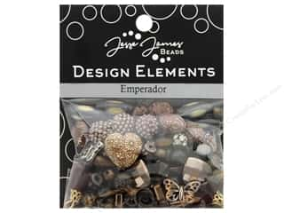 beading & jewelry making supplies: Jesse James Bead Design Element Emperador