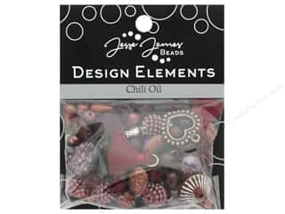 scrapbooking & paper crafts: Jesse James Bead Design Element Chili Oil