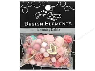beading & jewelry making supplies: Jesse James Bead Design Element Blooming Dahlia