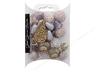 beading & jewelry making supplies: Jesse James Bead Inspiration Almost Mauve