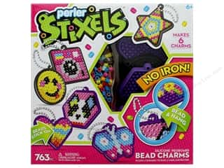 beading & jewelry making supplies: Perler Stixels Bead Charm Kit Box 750 pc Charmed