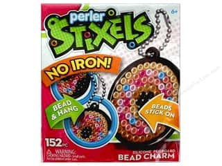 beading & jewelry making supplies: Perler Stixels Bead Charm Kit Trial Ice Donut