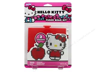 beading & jewelry making supplies: Perler Fused Bead Kit 1000 pc Hello Kitty