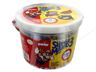 beading & jewelry making supplies: Perler Fused Bead Kit Bucket 5000 pc Super Mario Bros 3