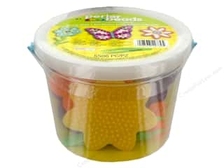 beading & jewelry making supplies: Perler Fused Bead Kit Bucket 5500pc Sunny Days