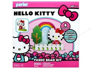 beading & jewelry making supplies: Perler Fused Bead Kit Box 2000 pc Hello Kitty