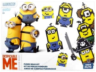 beading & jewelry making supplies: Perler Fused Bead Kit Box 4400 pc Minions Despicable Me 3
