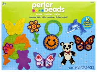 beading & jewelry making supplies: Perler Fused Bead Kit Box 5000 pc Creative Kid