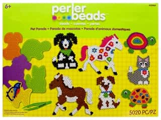 beading & jewelry making supplies: Perler Fused Bead Kit Box 5000 pc Pet Parade
