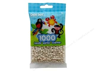 beading & jewelry making supplies: Perler Beads 1000 pc. Toasted Marshmallow