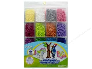 beading & jewelry making supplies: Perler Double Bead Tray 8000 pc.