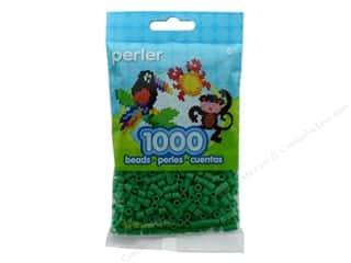 beading & jewelry making supplies: Perler Beads 1000 pc. Shamrock