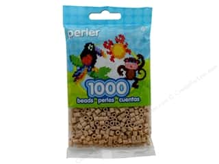 beading & jewelry making supplies: Perler Beads 1000 pc. Fawn