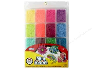 beading & jewelry making supplies: Perler Mini Bead Tray 16000 pc. Tropical