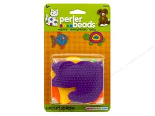 Perler Fused Bead Pegboards Animal 6 pc