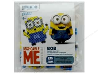 Perler Fused Bead Kit Trial 225 pc Minions Despicable Me 3 Bob