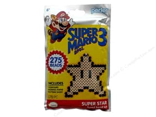 Perler Fused Bead Kit Trial 278 pc Super Mario Brothers 3 Super Star