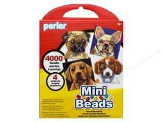 beading & jewelry making supplies: Perler Fused Bead Kit Mini 4000 pc Dogs