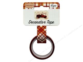scrapbooking & paper crafts: Carta Bella Fall Break Deco Tape Fall Plaid