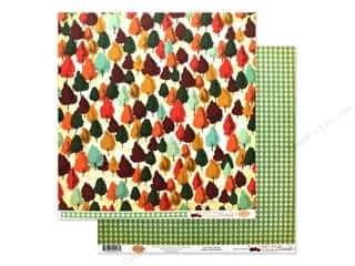 Carta Bella Fall Break Paper 12 in. x 12 in. Autumn Trees (25 pieces)
