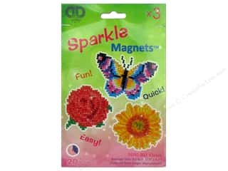 beading & jewelry making supplies: Diamond Dotz Facet Art Kit Sparkle Magnet Classic 3 pc