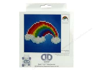 beading & jewelry making supplies: Diamond Dotz Beginner Kit - Ever Living Rainbow