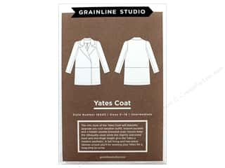books & patterns: GrainLine Studio Yates Coat Pattern