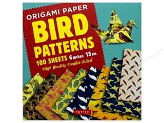 patterned paper : Tuttle Publishing Origami Paper 6 in. x 6 in. Bird Patterns Book