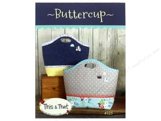 books & patterns: This & That Buttercup Pattern