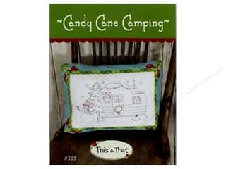 This & That Candy Cane Camping Pattern