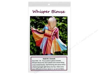Clearance: Designs By Heidi Whisper Blouse Pattern