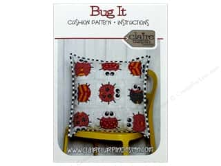 Claire Turpin Design Bug It Cushion Pattern