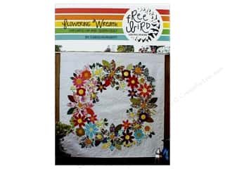 Free Bird Quilting Designs Flower Wreath Quilt Pattern