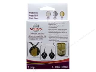 craft & hobbies: Sculpey Liquid Clay Bakeable Medium 1 oz Metallics
