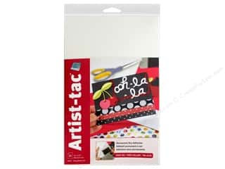 Grafix Double Tack Film Artist-Tac Adhesive 11 in. x 17 in. Permanent 25 pc