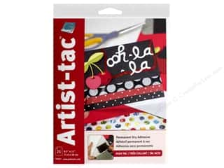 craft & hobbies: Grafix Double Tack Film Artist-Tac Adhesive 8.5 in. x 11 in. Permanent 25 pc