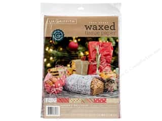 scrapbooking & paper crafts: Werola Lia Griffith Tissue Paper Waxed Seasons Greetings 24 pc