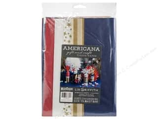 scrapbooking & paper crafts: Werola Lia Griffith Tissue Paper Frosted Americana 25 pc