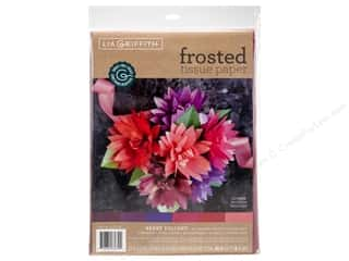 scrapbooking & paper crafts: Werola Lia Griffith Tissue Paper Frosted Berry Delight 24 pc
