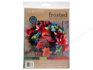 Werola Lia Griffith Tissue Paper Frosted Holiday Cheer 24 pc