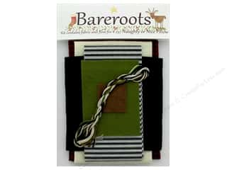 Clearance: Bareroots Kit Fabric & Floss Kit Naughty Or Nice Pillow