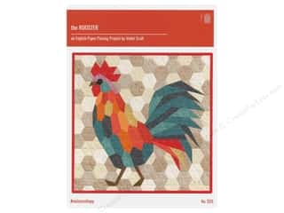 Clearance: Violet Craft The Rooster English Paper Piecing Pattern
